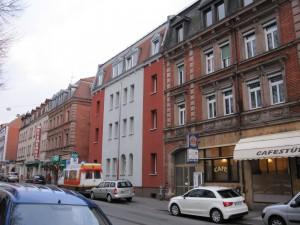 Kirchenweg 41 - nach der Fassadenrenovierung und -isolierung
