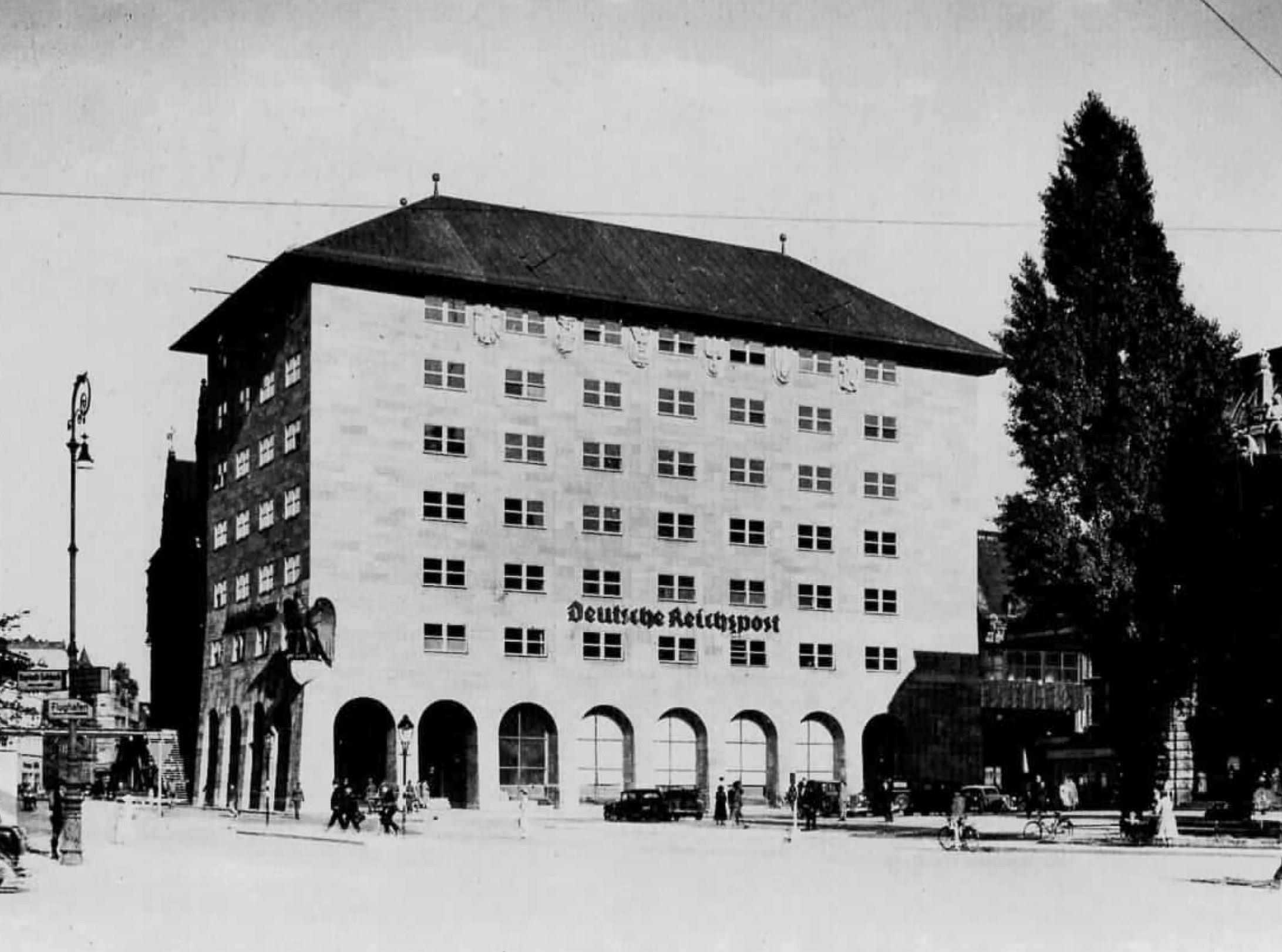 Hauptpost geschichte und architektur im berblick stadtbild initiative n rnberg - Deutsche architektur ...